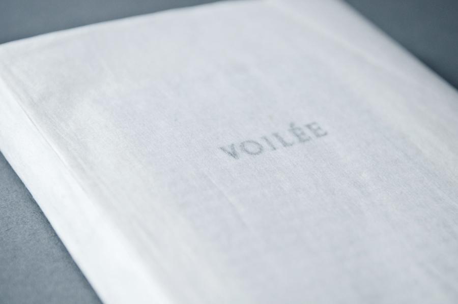Artist book Voilée, Mateja Artac
